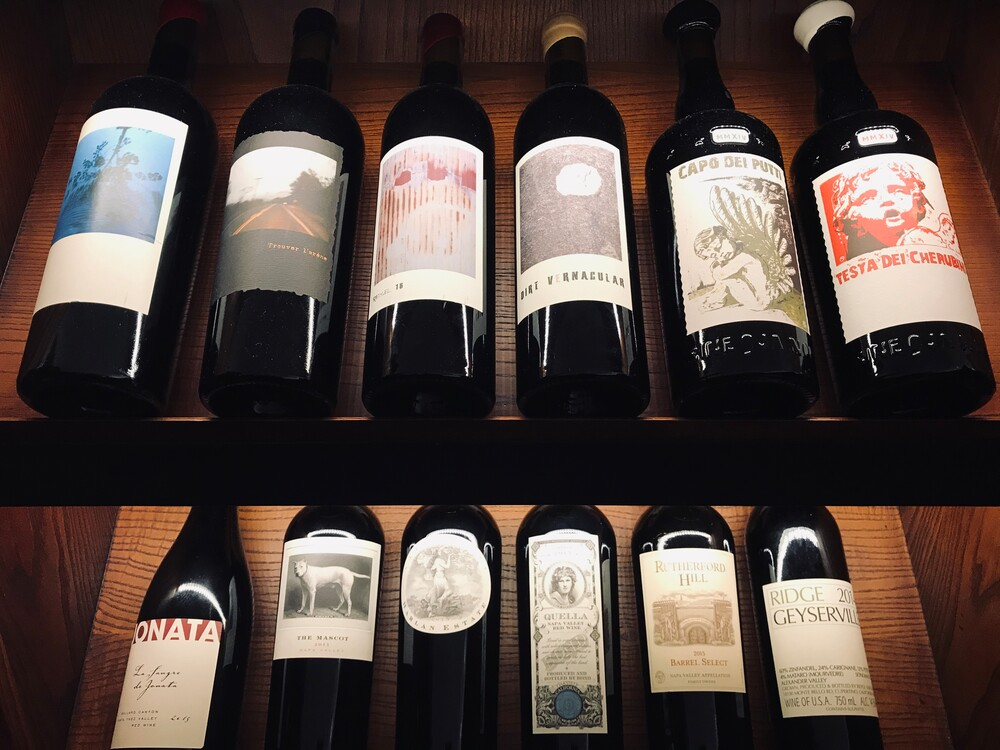 Holland Park's Flat Three holds great iconic Californian red wines